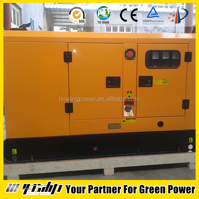 AC three phase output 12kva silent diesel generator