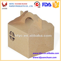 YuanChuan Kraft paper take way packaging box for Cake ,dessert