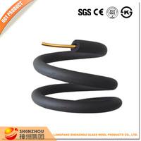 Air conditioner refrigerant line insulation material