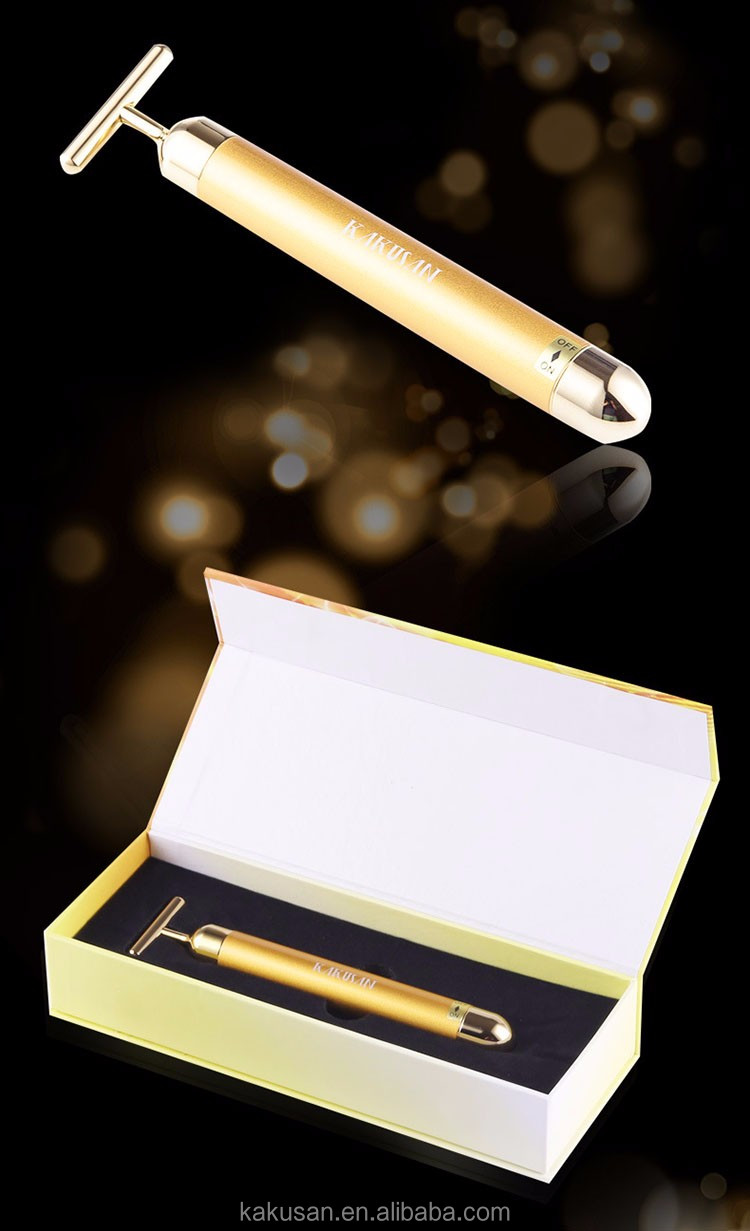 hot sale in Japan KAKUSAN 24k gold energy vibration beauty bar