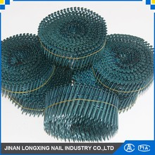 wire nail zinc dome head coil nails