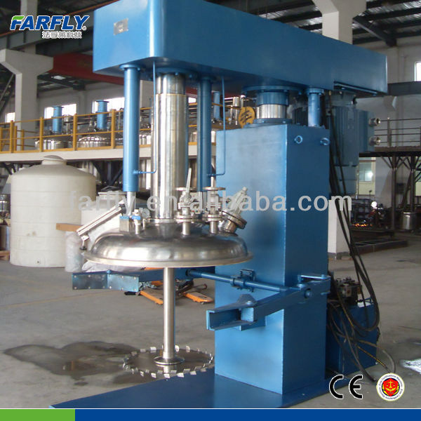 Water Based Non-toxic Exterior wall paint FDZ vacuum dispersing machine,paint mixing machine for sale