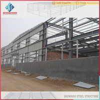 Showhoo Construction Designed Pre engineering Light Gauge Steel Structures Framing Warehouse/Metal Sheds Buildings