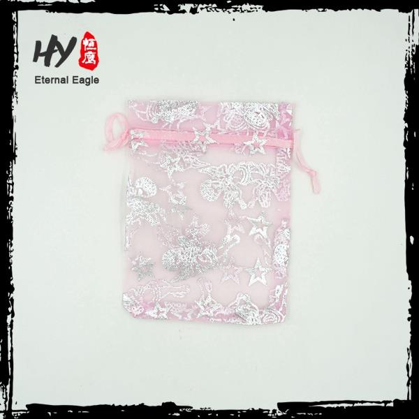 Personalized high quality organza pouch for gifts,organza pouches for jewelry,organza jewelry pouches wholesale