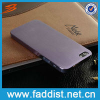 Smart Mobile Phone Hard Case for iphone 5 Aluminum Cover