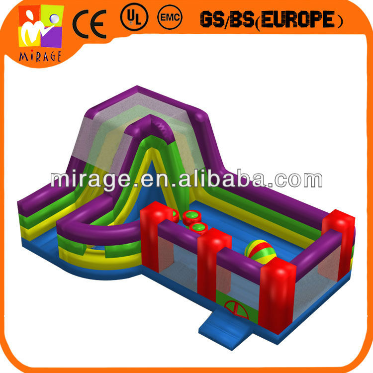 giant inflatable combo slide interactive games for sales