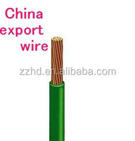 electrical wire 6mm2 copper pvc insulated electrical wire