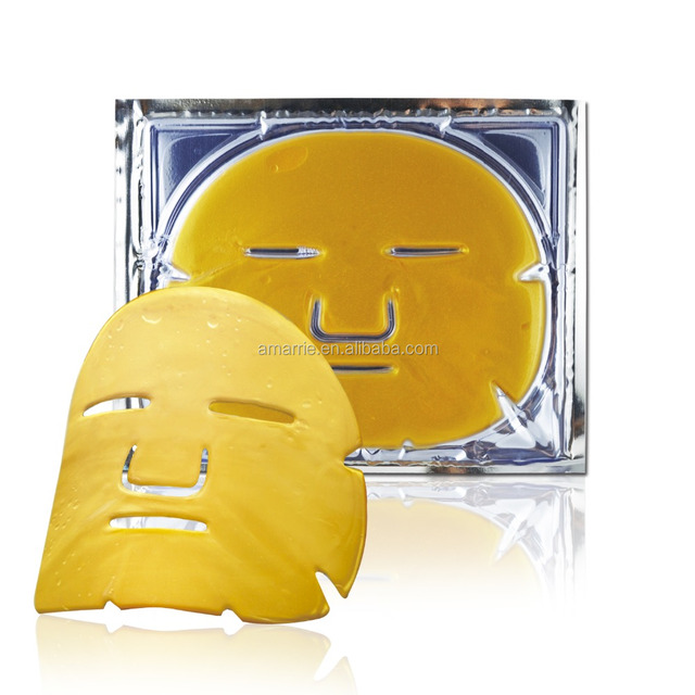 Beauty personal skin care face mask nutrient facial mask 24K gold collagen cosmetic mask China manufacturer