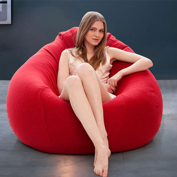 Waterproof outdoor huge bean bag chair,foam filled bean bag