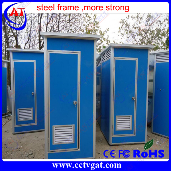 Favorable price quality report colorbond steel Portable Toilet Booth Camping Toilet module container