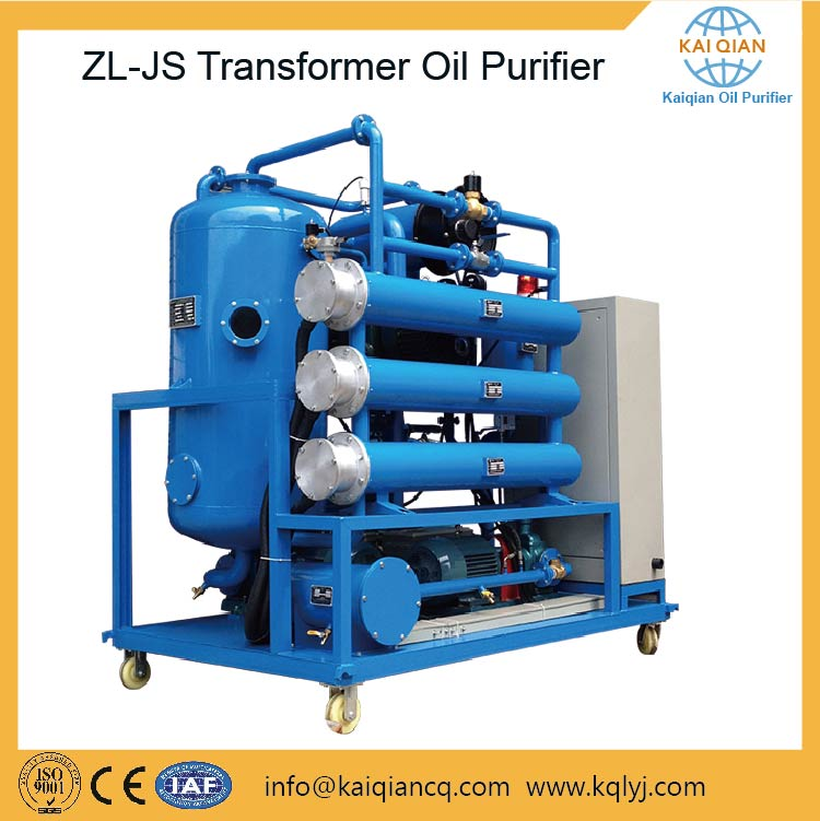 Double Stage Vacuum Transformer Oil Recycling Device