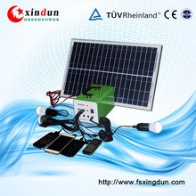high efficiency 20W 12V 9AH portable mini solar power generator for outdoor using