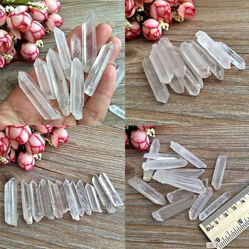 clear crystal quartz raw crystal points for specimen