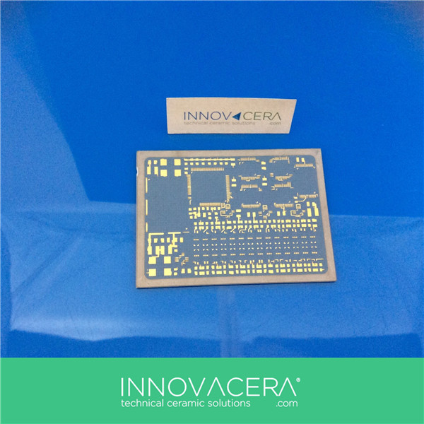 Alumina DBC / Direct Bonded Copper Ceramic Substrate For Semiconductor/ INNOVACERA