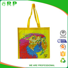 Superior quality lightweight packaging recycled pp woven bag