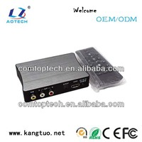 HOT 3d hdmi media player 1080p with external hdd