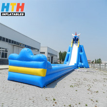 2017 high quality giant inflatable water slide for sale