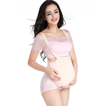 Silicone pregnant belly for woman false pregnancy experience,artificial stomach in bag