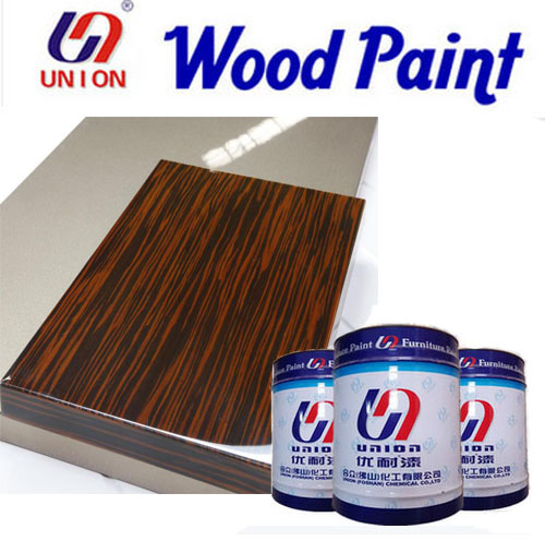 High gloss PU top coat wood lacquer for furniture