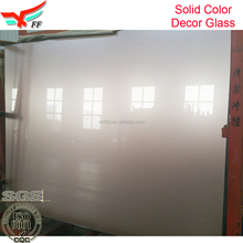 Champagne Solid Color Glass For Kitchen Cabinet Window