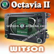 WITSON auto radio car dvd for skoda octavia ii with ISDB-T Tuner (Optional)