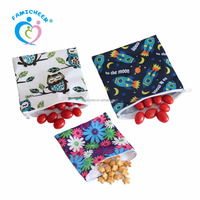 New Famicheer Ultimate Custom Printed Reusable Snack Bags