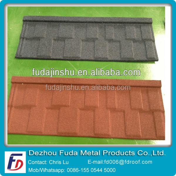 Green galvalume steel plate roof tiles