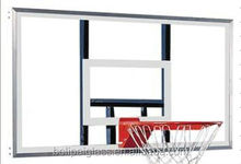 High Quality Custom Tempered Glass Basketball Backboard