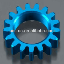 Blue Anodized Aluminum Gear,Thunder Tiger 2 Speed Gear 17T