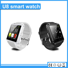 NEW hebrew language u8 bluetooth bracelet smart watch for android smart phone