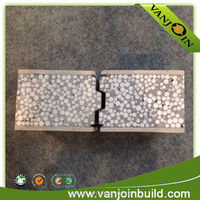 heat insulation space saving economy eps sandwich wall panel