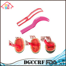 NBRSC Kitchen Fruit Tool Safe Plastic Watermelon Cutter Slicer Corer Server Scoop Knife