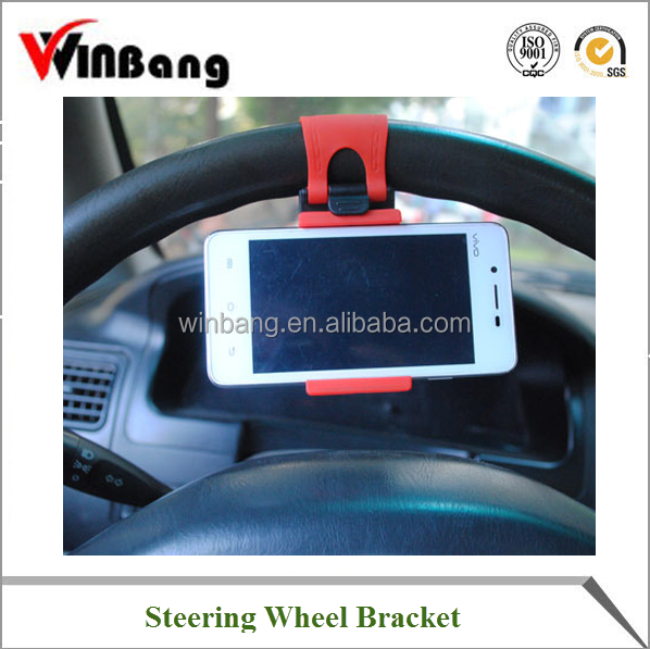Funny Cell Phone Holder for Car Steering Wheel