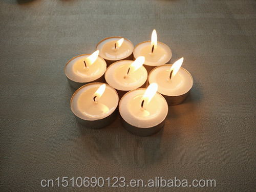 tealight candle in bulk wholesale jk0721 pure 100&% stearic palm wax