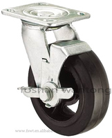 Good Price Roller Heavy Duty Pull Cart Solid Rubber Wheel 8 Inch