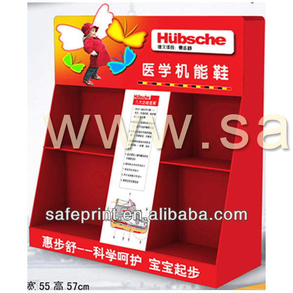 China factory end price pop shiper display custom belt display box