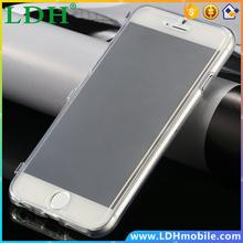 Affordable items Ultra Thin Clear Flip Slim Case for Apple iphone 6 4.7 TPU Gel Crystal Cover Transparent white 300pcs/lot DHL