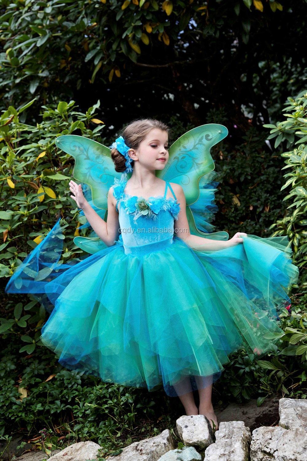 2015 New Arrival Tv Movie Cinderella Costume Butterfly