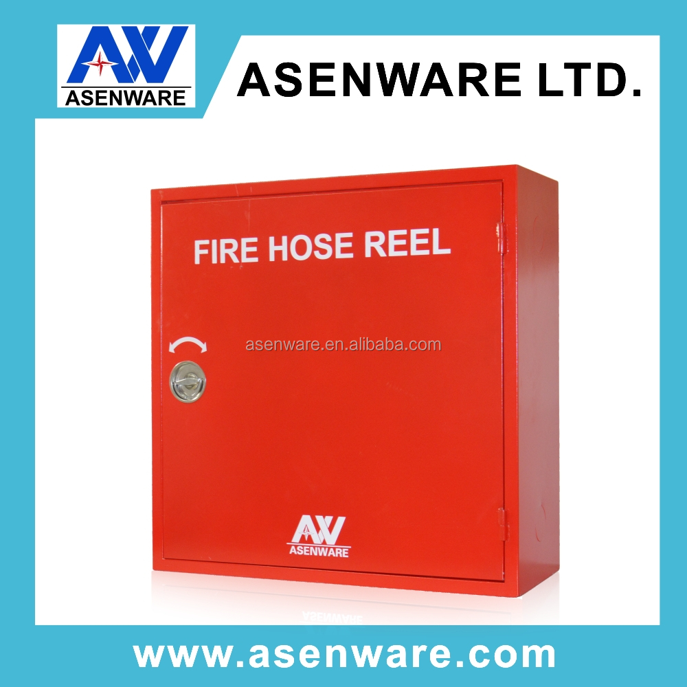 Fire Hose Reel Box with Red Painting Color for 30m Hose Reel