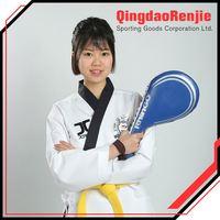 National Patents Artificial Leather Taekwondo Foot Guard Type Mma Kicking Foot Target Pad