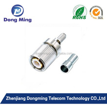 L9 male connector for RG58 RG58U