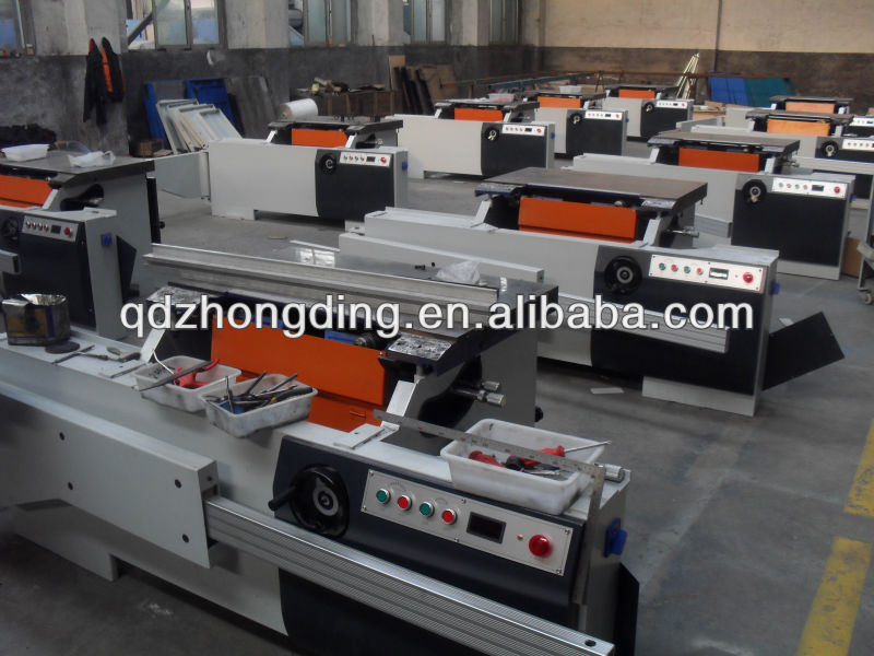 45 degrees double blade angle saw machine