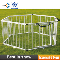 EP-HEX Pets product Competition Exercise Pen Outdoor Dog Fence Folding Puppy Exercise Pen