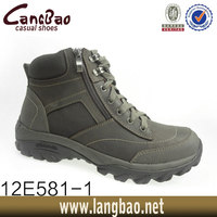 high quality genuine leather men shoes boots hunter boots