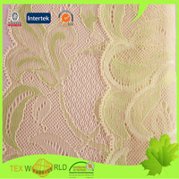 wholesale lace viscose polyamide elastane fabric for underwear