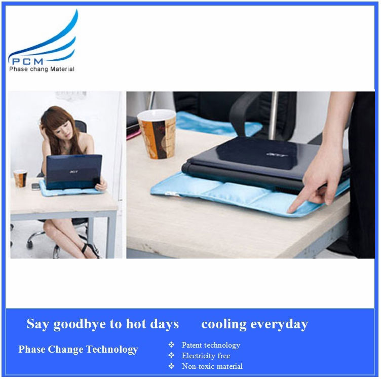 30*40cm waterproof fanless cooling pad for laptop/cooling computer