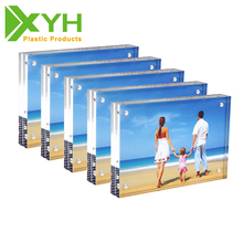 5x7 magnetic square acrylic photo frame for couples