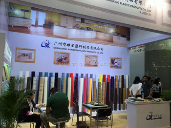 Canton Fair --- Xiongxing Customized PVC Film Used For Decoration