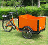 "Holland bakfiets adult 3 wheel pedal tricycle 26"" for sale"