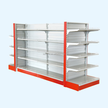 Metal Grocery Store Rack Shelf Supermarket For Sale